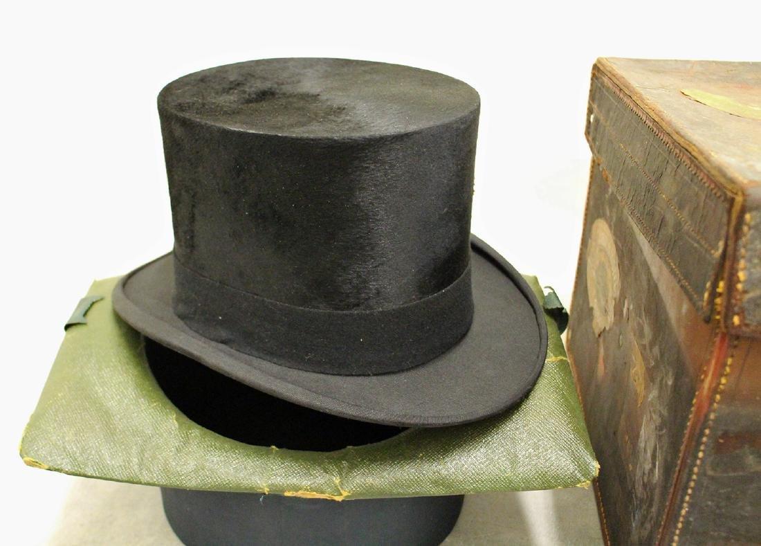 HENRY HEATH HAT CASE & HAT - 3