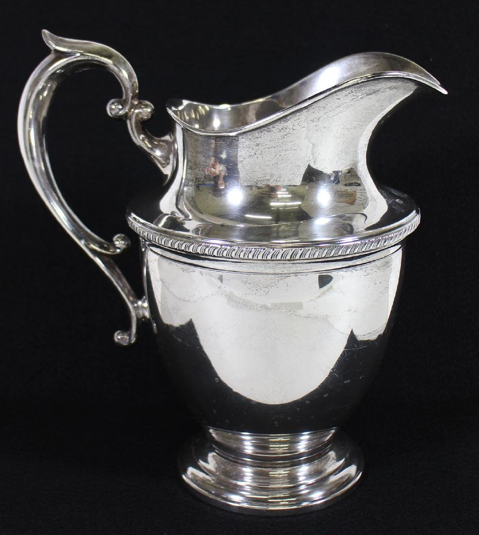 HUNT STERLING SILVER WATER PITCHER