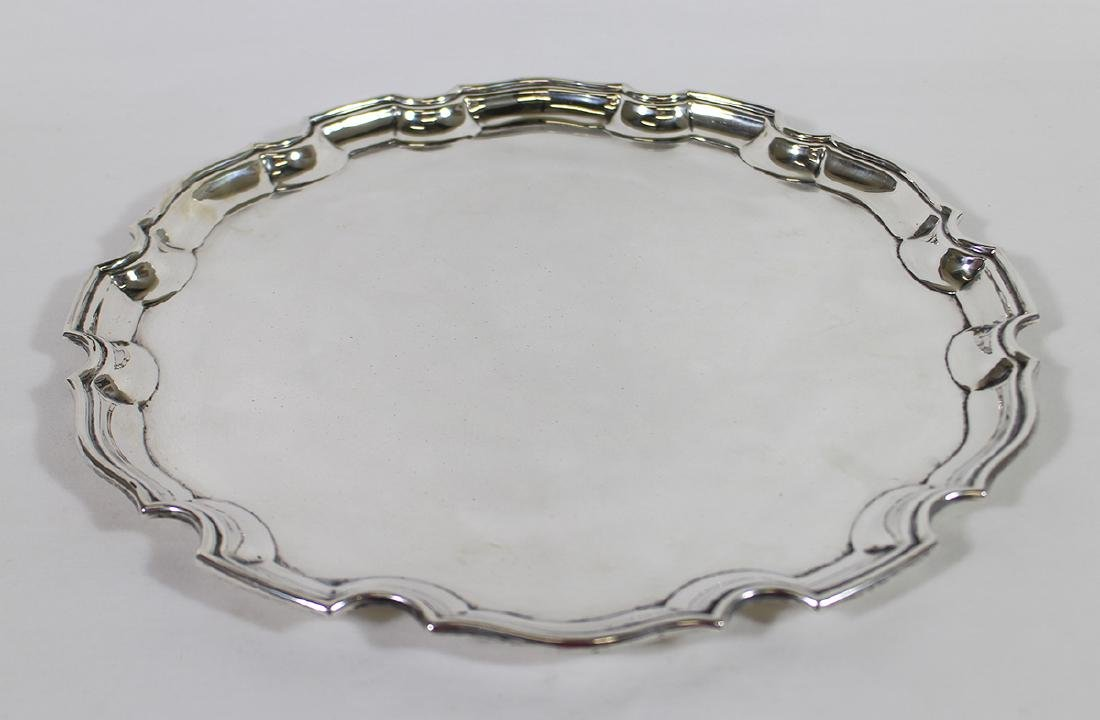 TIFFANY & CO. ENGLISH STERLING SILVER TRAY