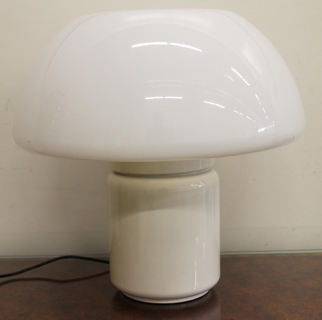ELIO MARTINELLI MID CENTURY MODERN MUSHROOM LAMP - 2
