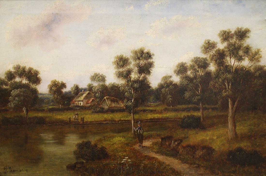 19TH CENTURY G. THOMPSON PAINTING - 2