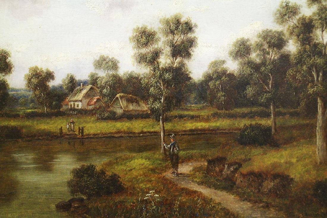 19TH CENTURY G. THOMPSON PAINTING - 3