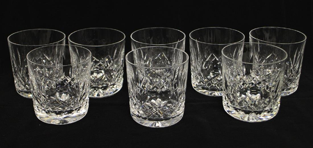 (8) WATERFORD CRYSTAL LISMORE TUMBLER COCKTAILS