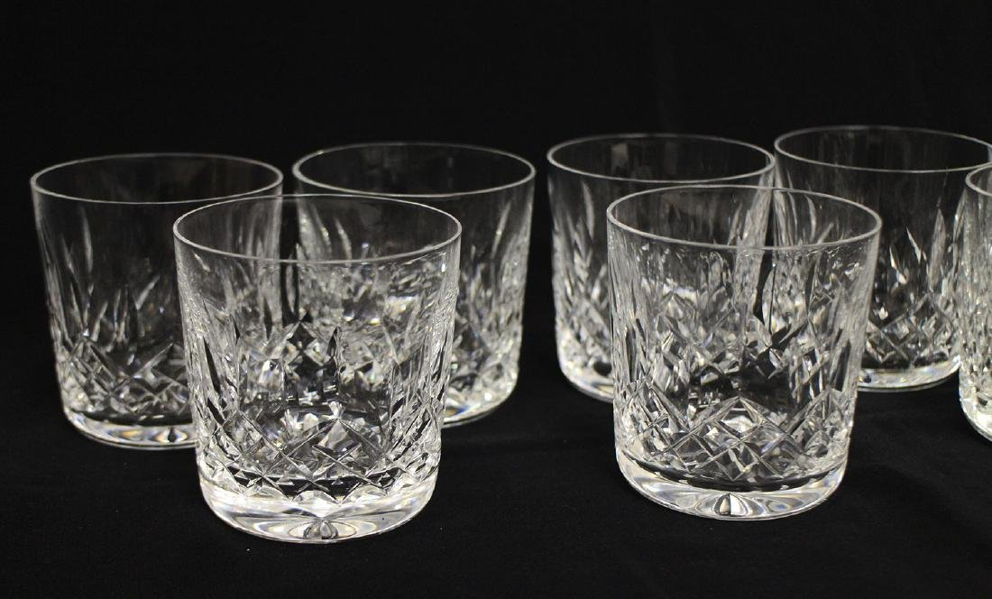 (8) WATERFORD CRYSTAL LISMORE TUMBLER COCKTAILS - 2