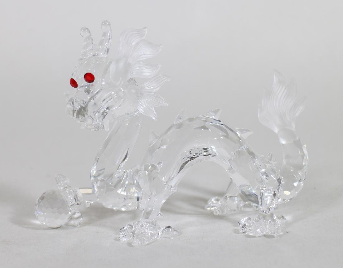 SWAROVSKI CRYSTAL DRAGON W/ BOX