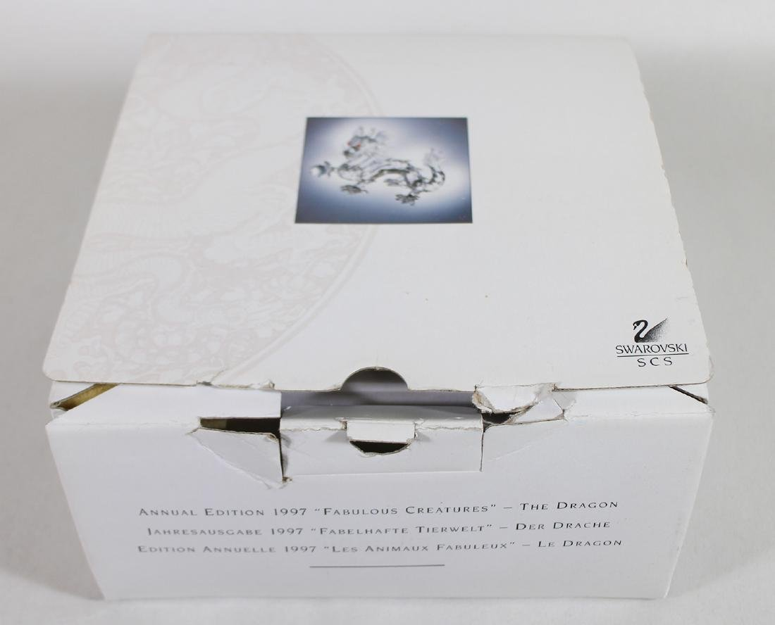 SWAROVSKI CRYSTAL DRAGON W/ BOX - 4