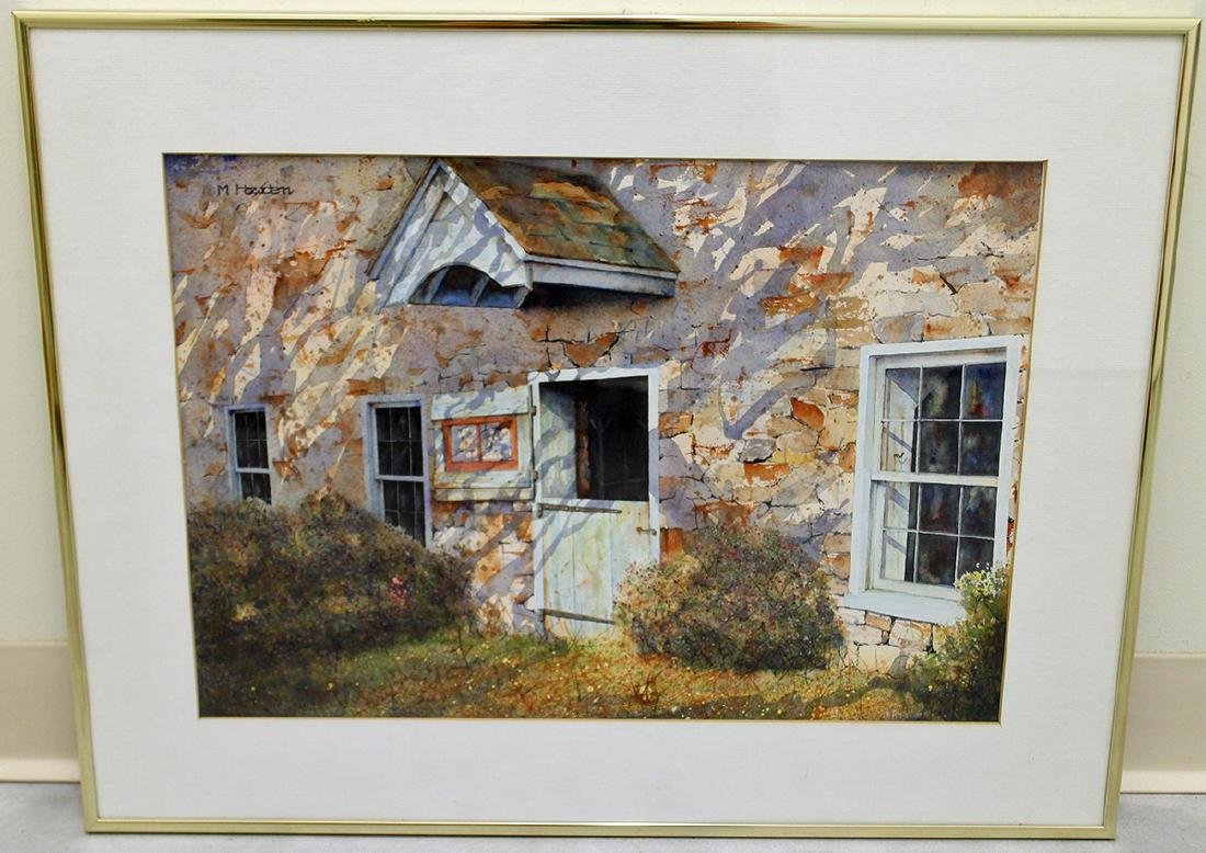 MURRAY HOWDEN WATERCOLOR - 2