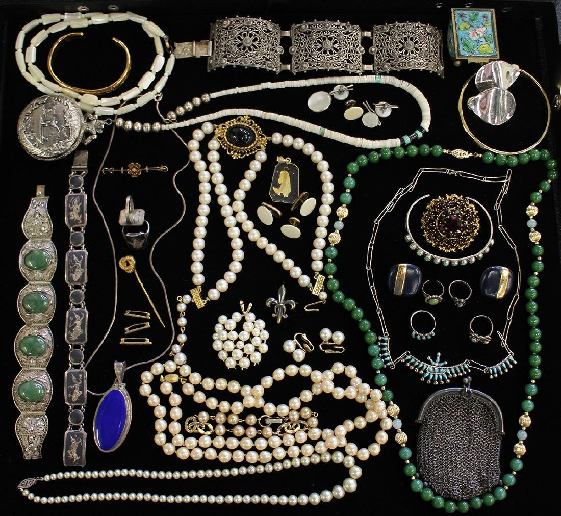 STERLING, COSTUME & MORE JEWERLY COLLECTION