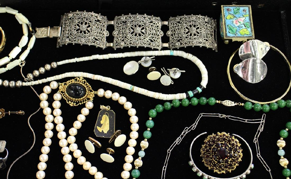 STERLING, COSTUME & MORE JEWERLY COLLECTION - 2