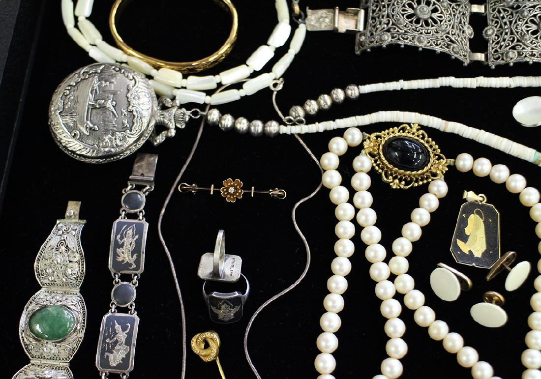 STERLING, COSTUME & MORE JEWERLY COLLECTION - 3