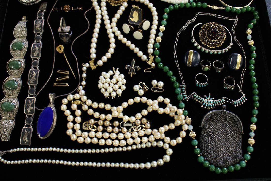 STERLING, COSTUME & MORE JEWERLY COLLECTION - 4