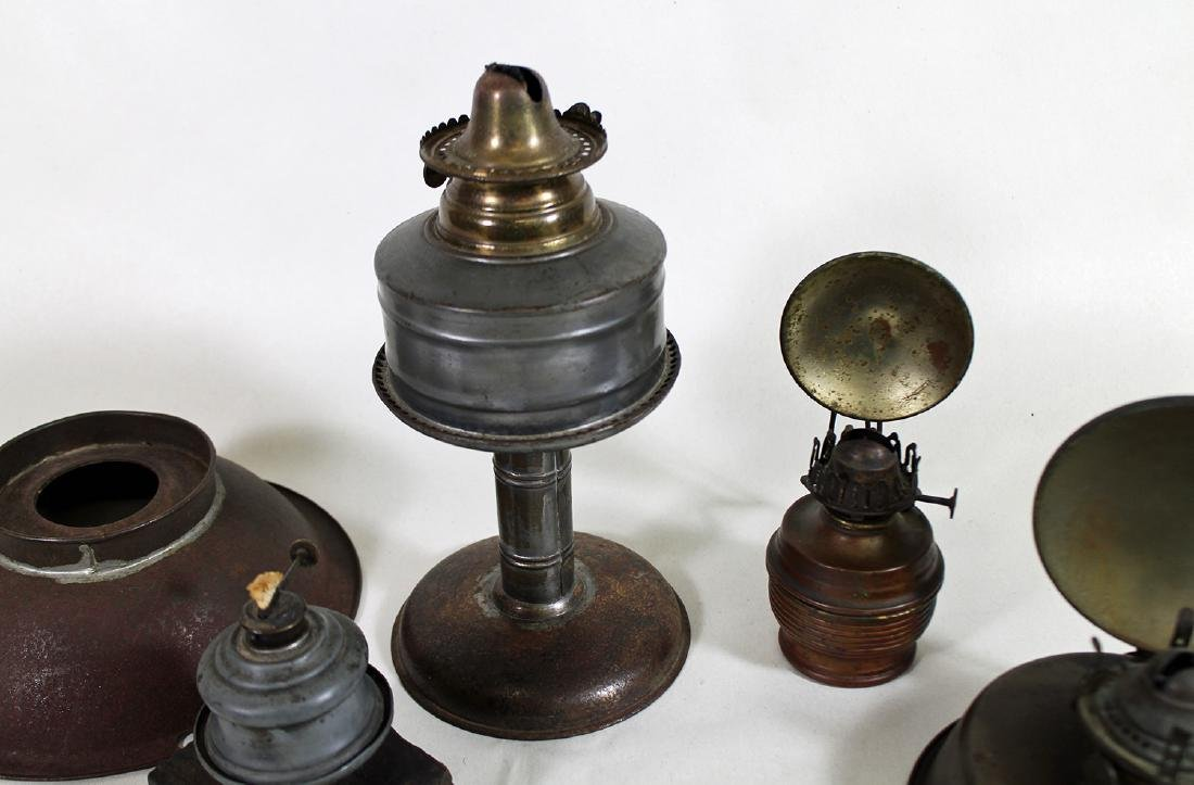 19th CENTURY OIL LANTERNS WITH REFLECTORS - 2