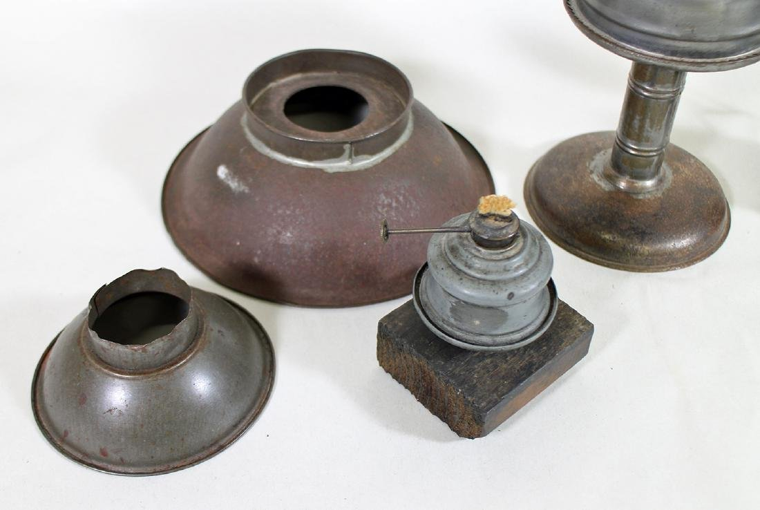 19th CENTURY OIL LANTERNS WITH REFLECTORS - 3