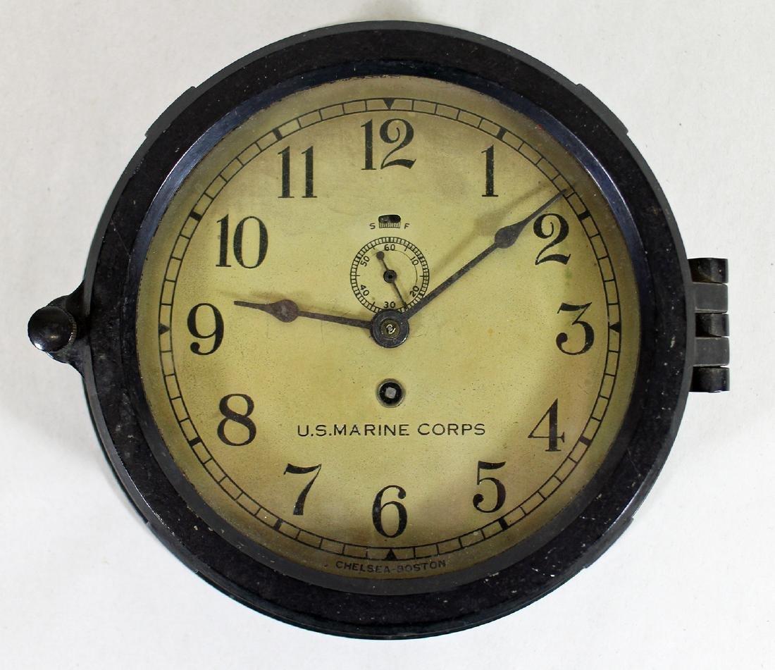 U.S. MARINE CORPS CHELSEA CLOCK BOSTON