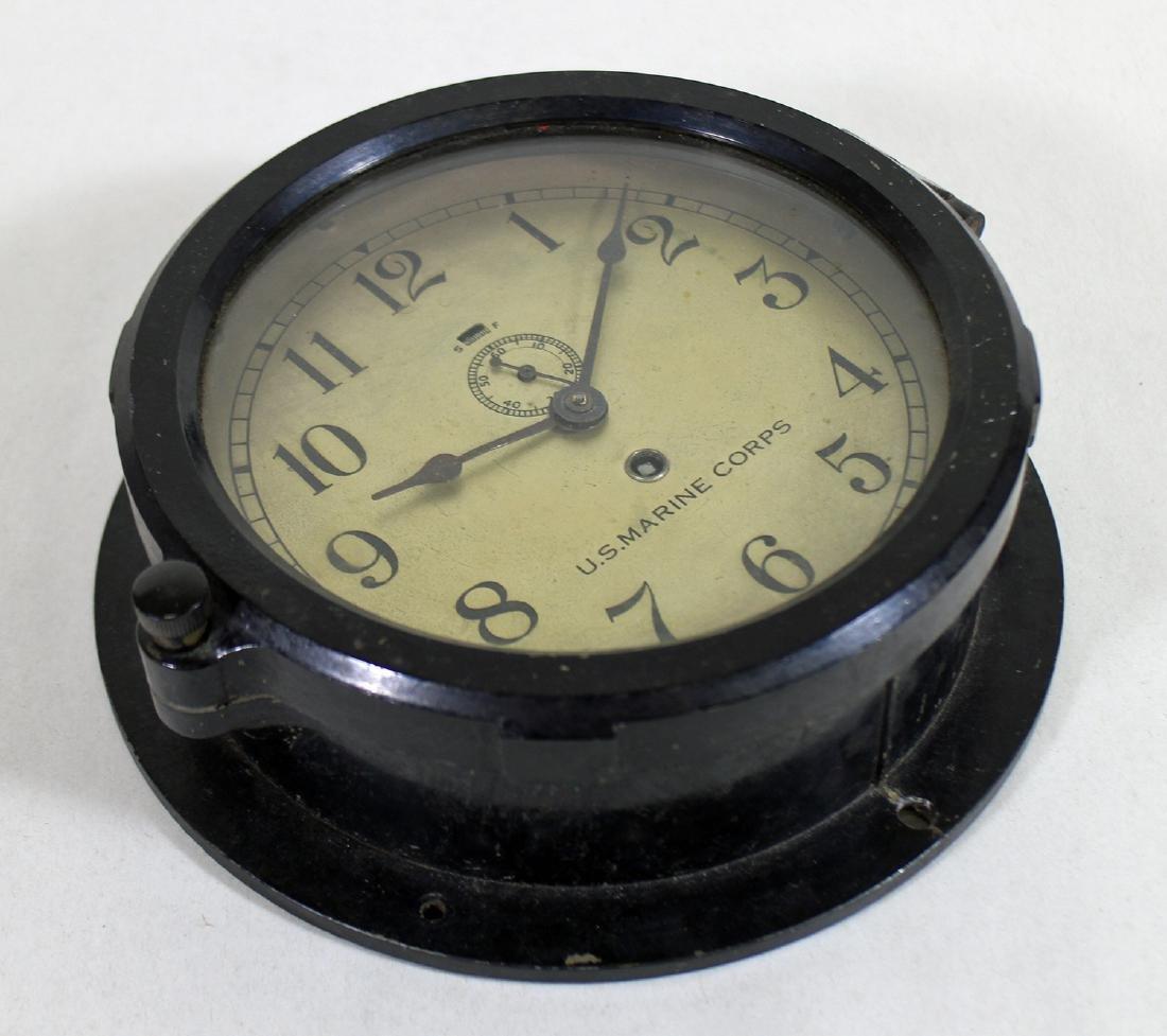 U.S. MARINE CORPS CHELSEA CLOCK BOSTON - 2