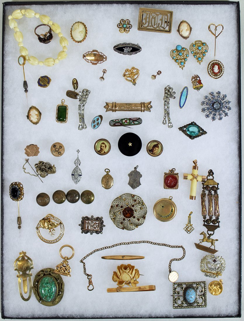 ANTIQUE VICTORIAN JEWELRY COLLECTION