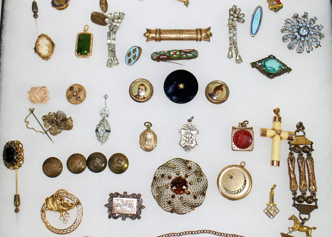 ANTIQUE VICTORIAN JEWELRY COLLECTION - 3