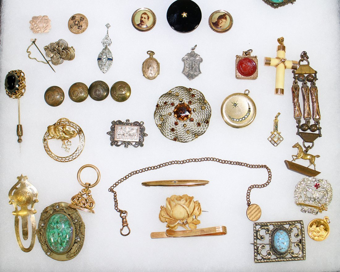 ANTIQUE VICTORIAN JEWELRY COLLECTION - 4