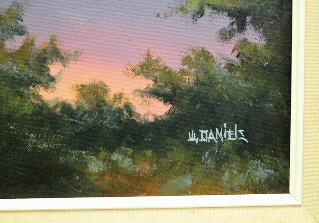 WILLIE DANIELS HIGHWAYMEN PAINTING - 3