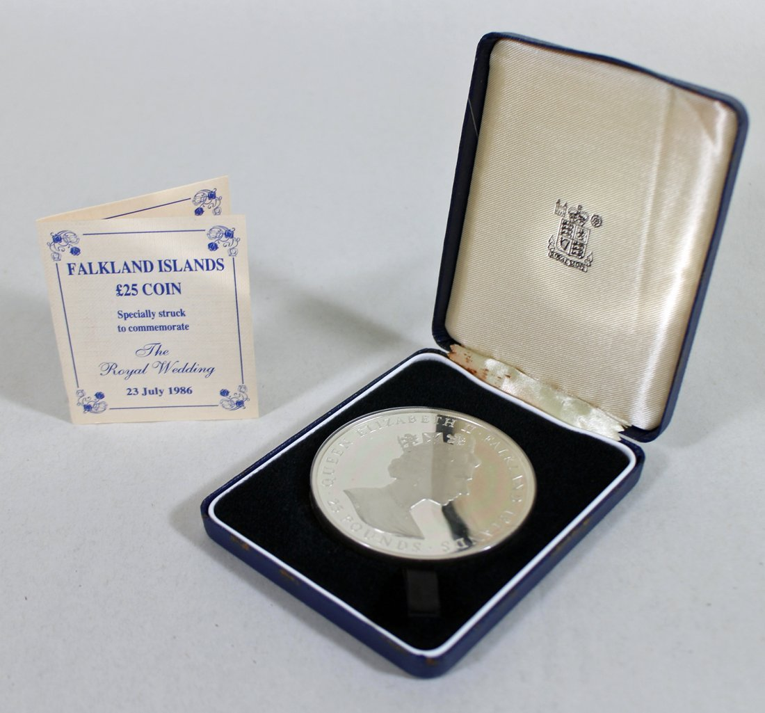 .925 STERLING 1986 ROYAL WEDDING COIN
