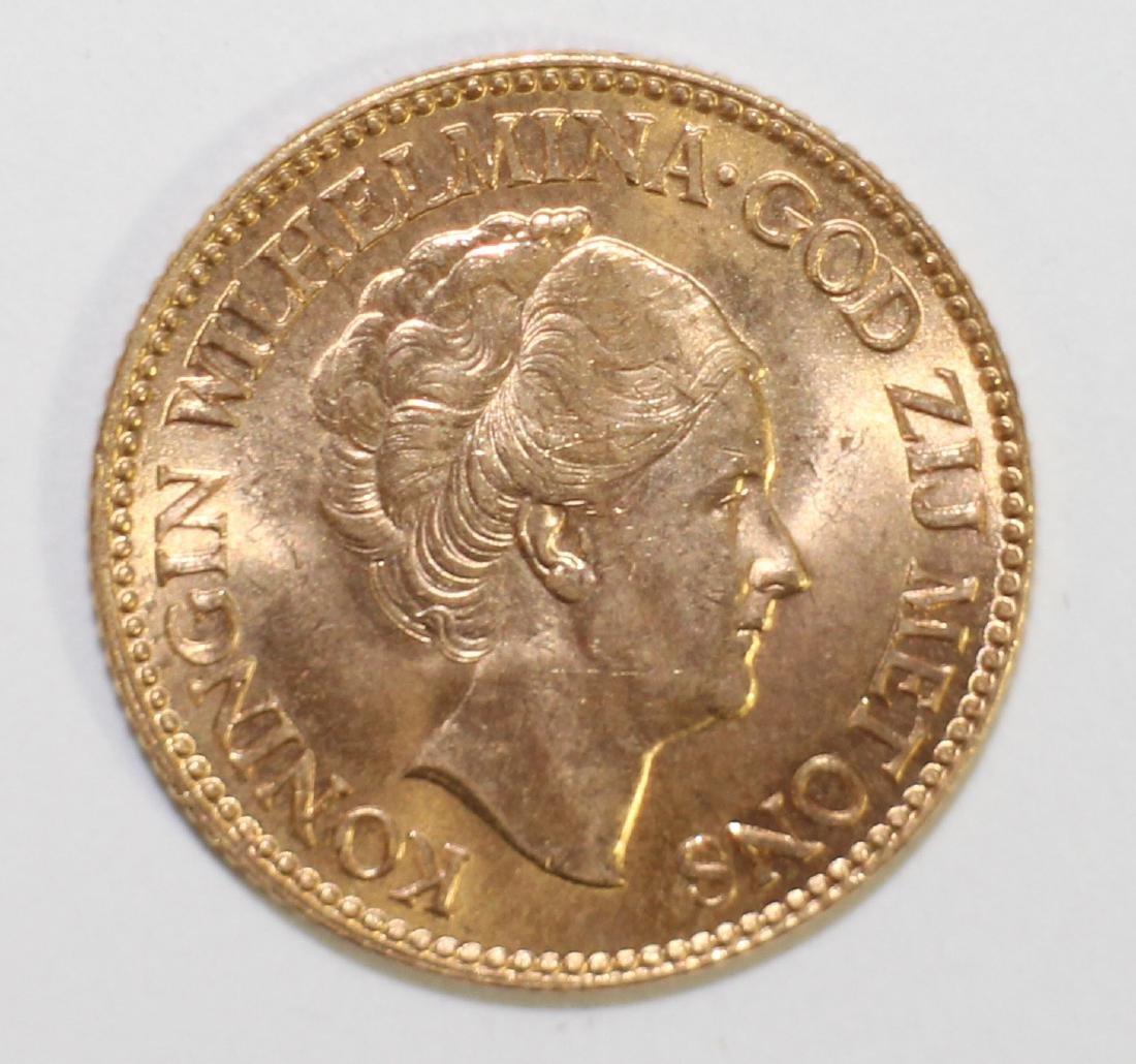 1933 NETHERLANDS 10G GOLD COIN