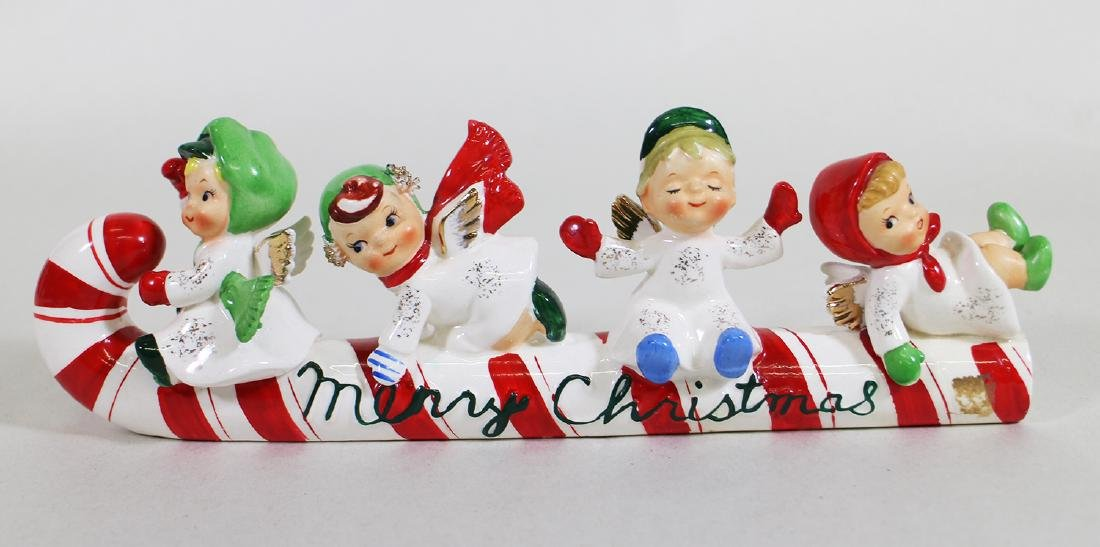 VINTAGE LEFTON MERRY CHRISTMAS CANDY CANE
