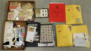 LARGE US  FOREIGN STAMP COLLECTION