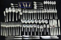 TOWLE CANDLELIGHT STERLING SILVER FLATWARE SET