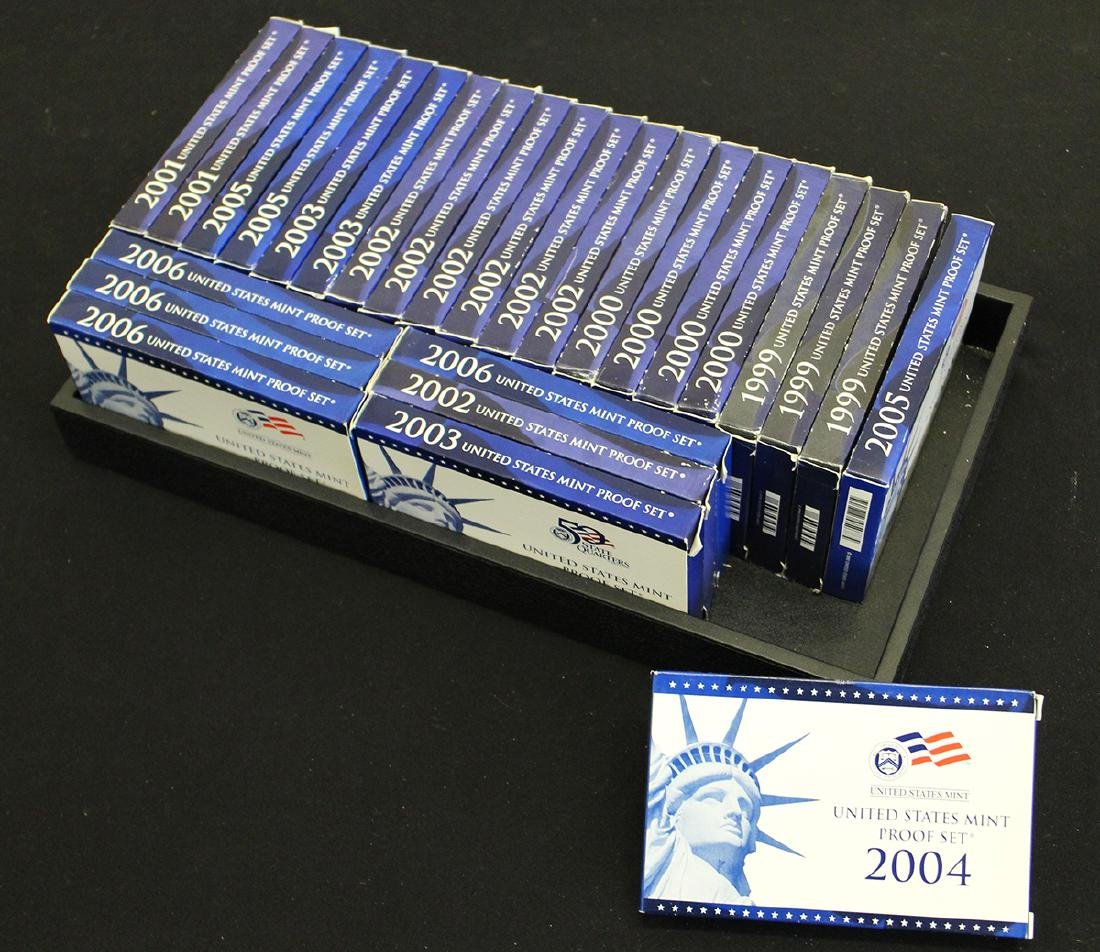 (27) UNITED STATES PROOF SETS