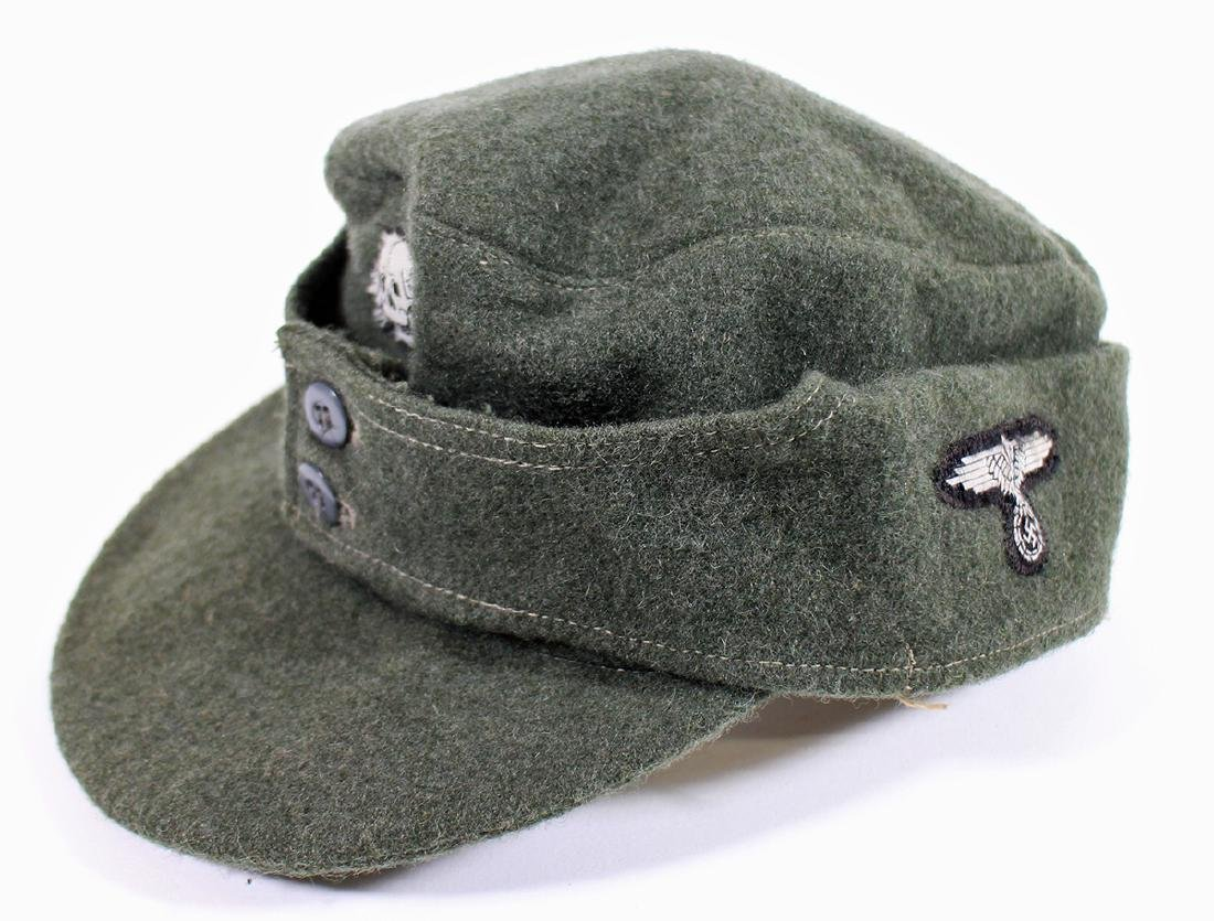 WWII GERMAN NAZI FIELD CAP