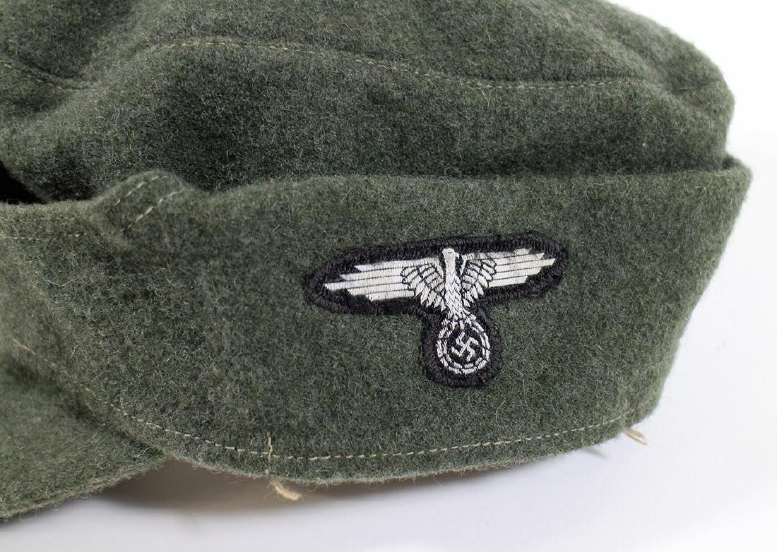 WWII GERMAN NAZI FIELD CAP - 2