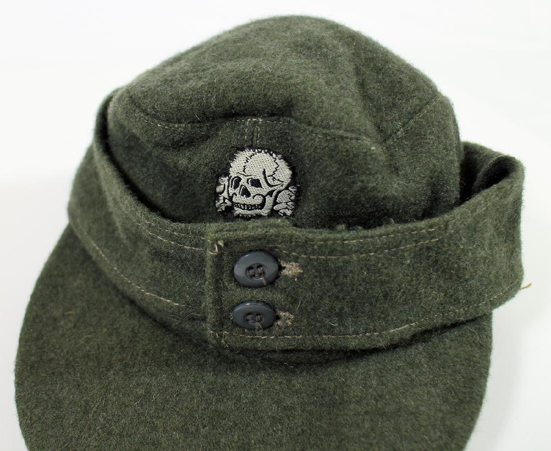 WWII GERMAN NAZI FIELD CAP - 3