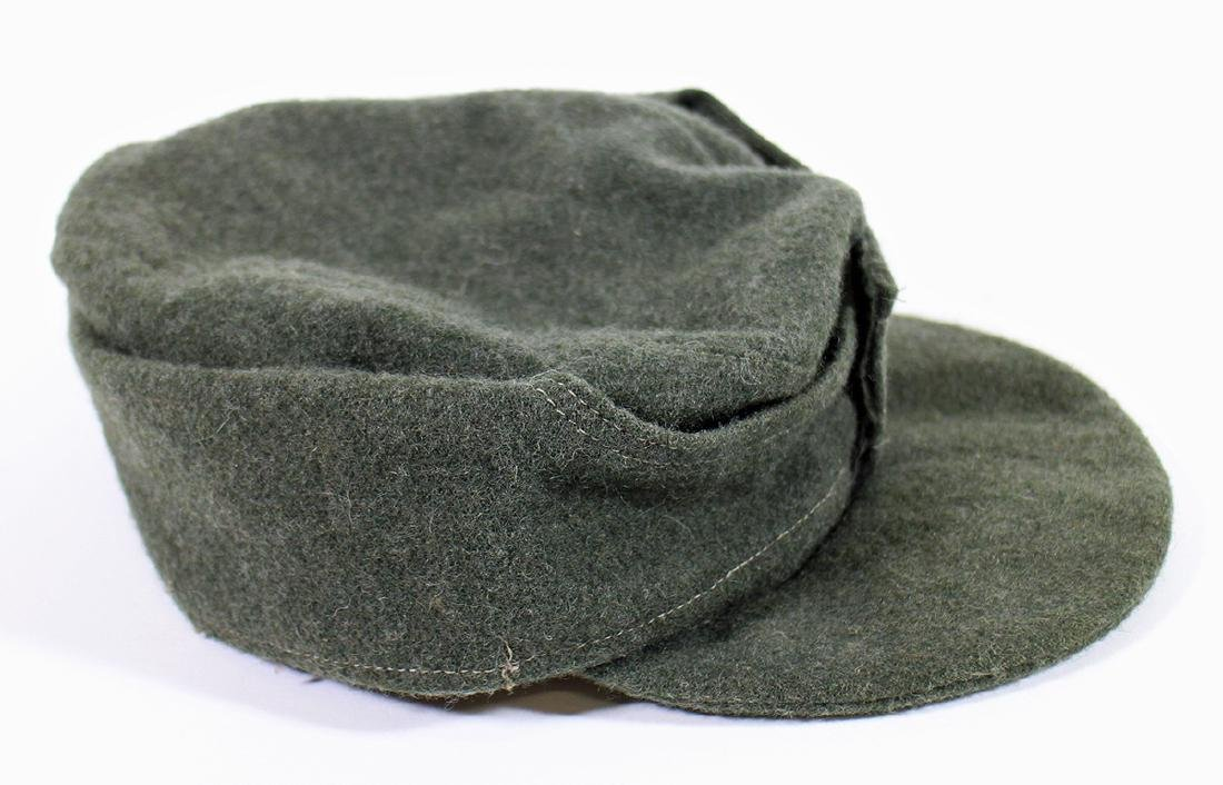 WWII GERMAN NAZI FIELD CAP - 5