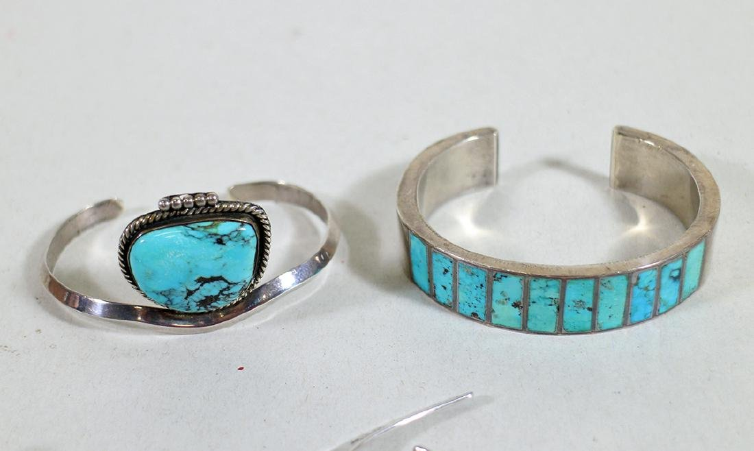 VINTAGE STERLING SILVER JEWELRY - 4