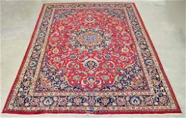 """LARGE SIGNED PERSIAN RUG 153"""" X 115"""""""