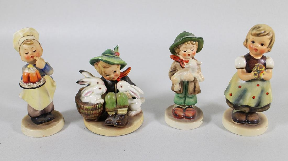 (4) HUMMEL FIGURINES