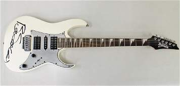 BOZ SCAGGS SIGNED IBANEZ GUITAR