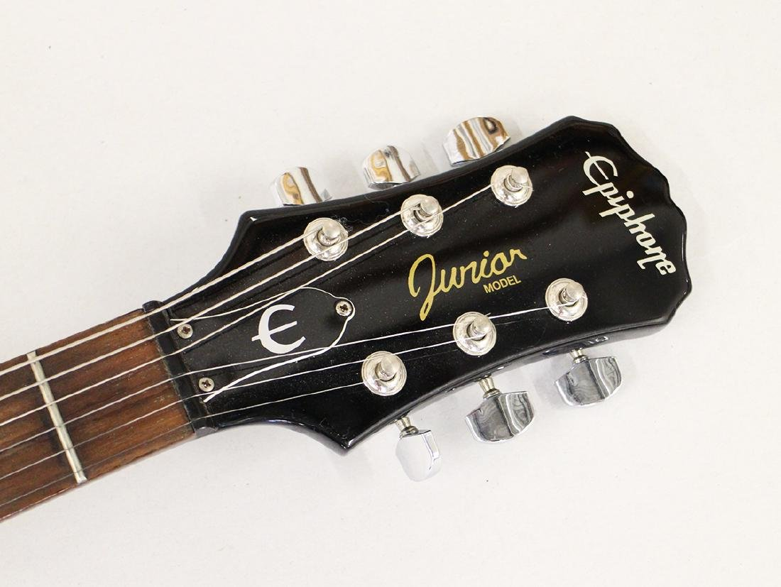 YES AUTOGRAPHED EPIPHONE GUITAR - 2