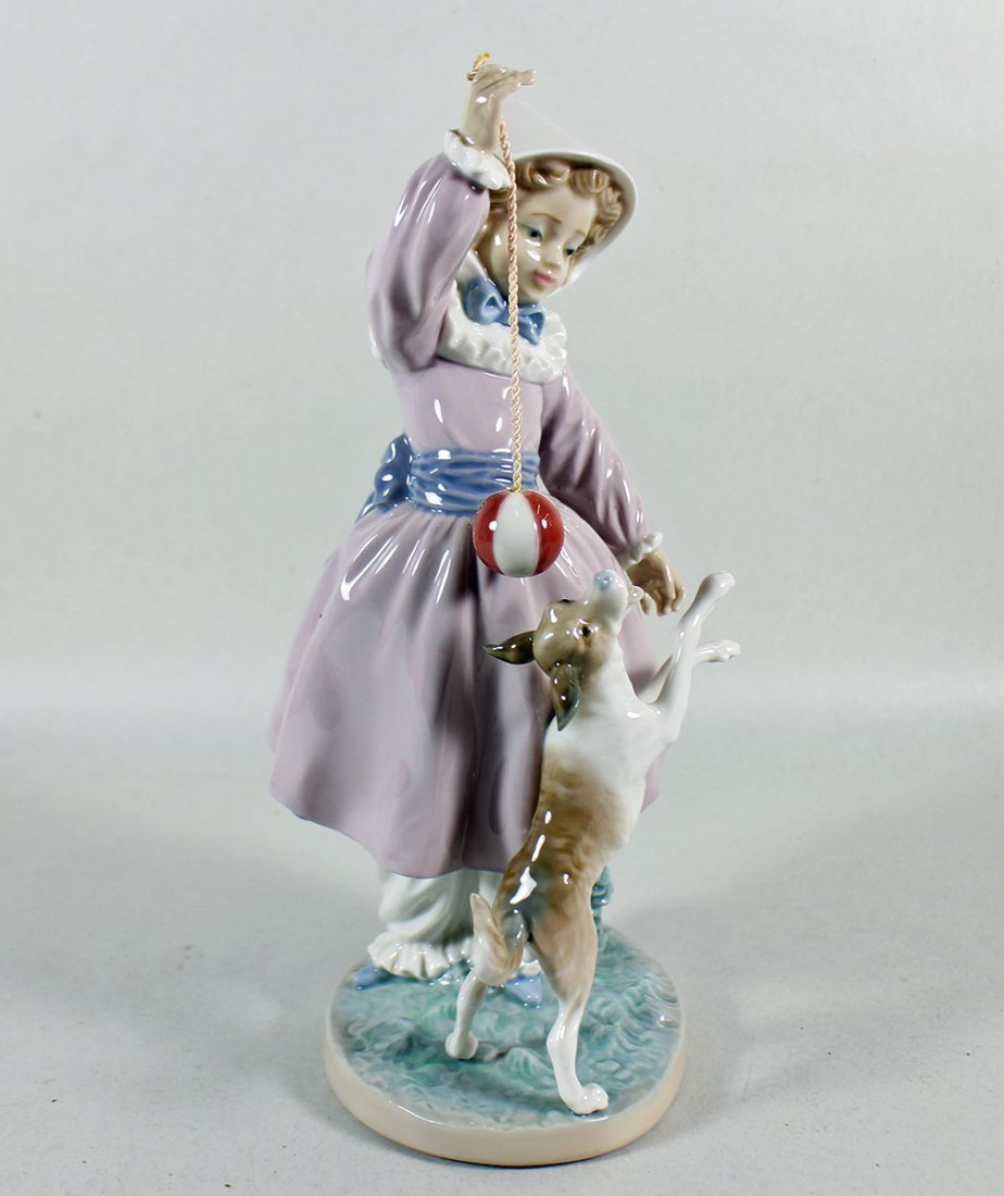 LLADRO TEASING THE DOG FIGURINE - 2