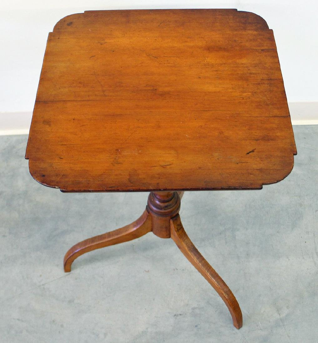 19TH CENTURY CANDLE STAND TABLE - 2