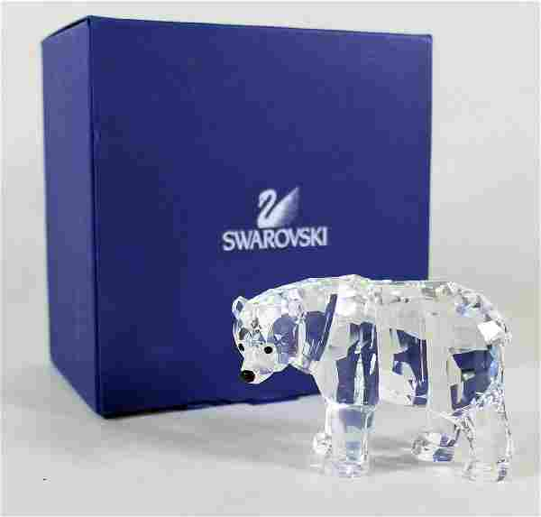 SWAROVSKI CRYSTAL MOTHER BEAR W/ BOX