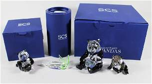 SWAROVSKI PANDA BEAR COLLECTION