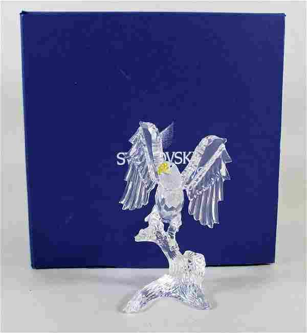 SWAROVSKI CRYSTAL BALD EAGLE W/ BOX