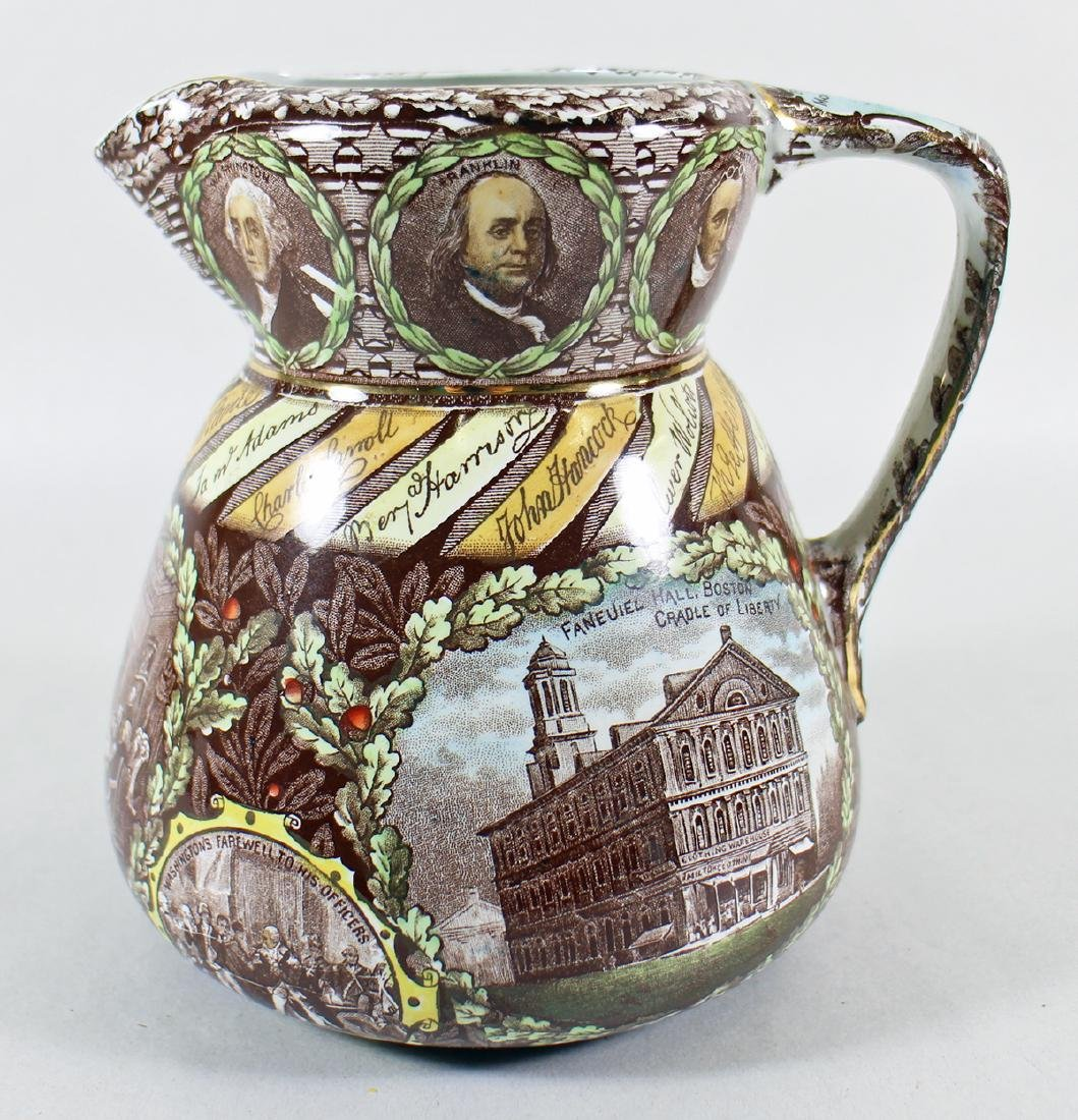 ROWLAND MARSELLUS AMERICAN INDEPENDENCE PITCHER