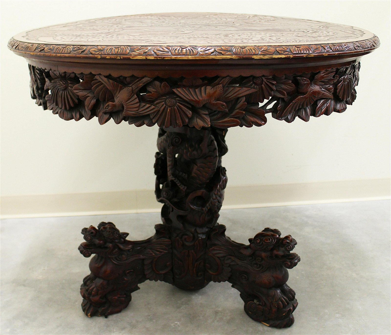 CHINESE DRAGON TABLE