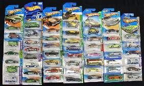 50 HOT WHEELS DIECAST CAR COLLECTION