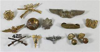 WWI / WWII MILITARY PINS