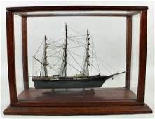 "MINIATURE SHIP MODEL ""FLYING CLOUD"" BY BUFFINGTON"