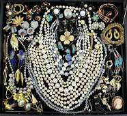 VINTAGE COSTUME JEWELRY COLLECTION