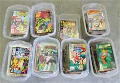 LARGE VINTAGE COMIC BOOK COLLECTION